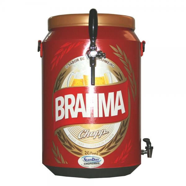 Chopeira Latinha de Cerveja Brahma