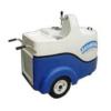 carrinho para chopp easy car azul e branco