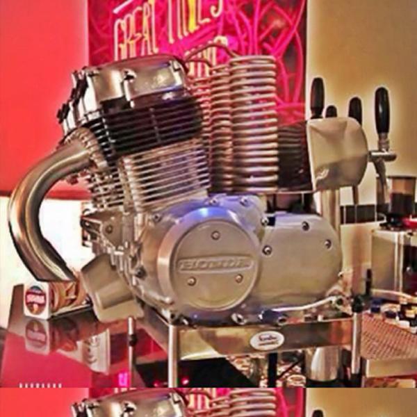 Chopeira Personalizada Motor da Moto